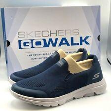 Skechers Men's Go Walk Shoe ULTRA GO Cushioning Air Cooled Navy NEW Size 8