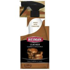 Weiman Leather Cleaner and Conditioner - 16 Ounce - For Car Auto Furniture Purse