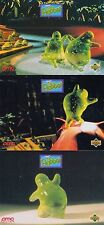 FLUBBER 1997 UPPER DECK/AMC THEATERS PROMO CARD SET OF 3