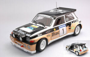 Model Car Rally Scale 1:18 solido Renault 5 Maxi diecast Rallye Du Var R5