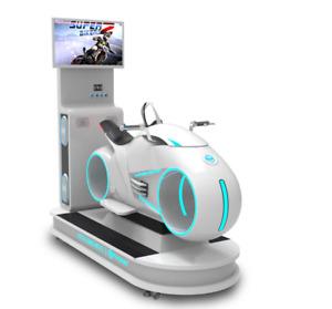 Virtual Reality VR Racing Moto Motorcycle Simulator 9D Bike Arcade SEE VIDEO