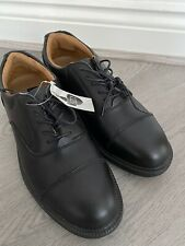 CITY KNIGHTS SS501CM STERLING SAFETYWEAR SMART SAFETY SHOES BLACK LEATHER UK 8