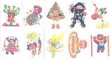 GARBAGE PAIL KIDS ANS4 COMPLETE SET OF 10 TATTOO 2005 ALL-NEW SERIES 4 ADAM BOMB