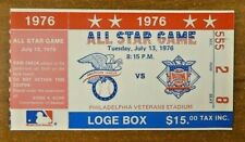 1976  Baseball All Star Game Ticket