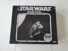 Star Wars Puzzle Millenium Falcon in HyperSpace 1977 Vintage Kenner 40410
