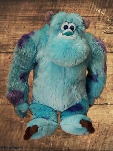 """Disney Collection * Monsters Inc * Sully Sulley  Pixar Stuffed Plush Doll * 14"""""""