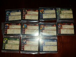 World of Warcraft Miniatures Game Lot of Rares x11 figures/cards Brand New/Mint