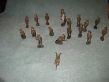 Vintage Elastolin WWI  Doughboy Army Men Lot of 18