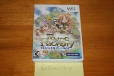 Rune Factory: Tides of Destiny (Nintendo Wii) NEW SEALED Y-FOLD, MINT, RARE!