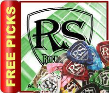 Conjunto de 1 Cuerdas de Guitarra Acústica RockSkool + 12 Gratis selecciones