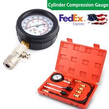 Petrol Gas Engine Compression Cylinder Compression Tester Gauge 300 PSI US Ship
