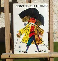 CONTES DE GRIMM - FLAMMARION 1962 - LIVRE EN BON ÉTAT