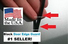 molding Trim (4 Door Kit) BLACK car DOOR EDGE GUARDS (fits) HONDA