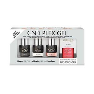 CND PLEXIGEL Shaper Kit - 5 Piece Set - NEW Authentic