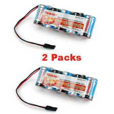 Tenergy 5 CELL 6V 1600mAh NiMH FLAT Receiver Battery Pack (2pcs)