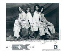 1994 Pretty R&B Band Ex Girlfriend Sitting Pose Stacy Francis Press Photo