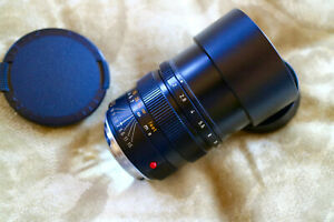 Leica Leitz Summicron-M 90mm F/2 Lens Excellent Clean E55 With Original Caps