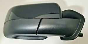 #97 BLACK FOR LAND ROVER LR2 DISCOVERY RIGHT PASSENGER MIRROR POWER FOLD 10-15