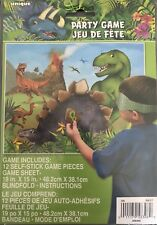 Pin / Stick the Spike on The Dinosaur - Childrens Birthday Party Game