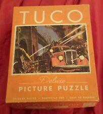 Tuco Puzzle, Fire Fighting Scene - Mack Fire Truck 1930's City Fire Scene 100% B