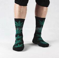 Hi green Men's USa Cushion Crew Socks 12-Pack - White Black