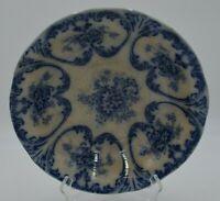 """Vintage Libertas Prussia Flow Blue Serving Bowl 10"""""""