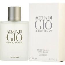 Giorgio Armani Acqua Di Gio 3.4 oz EDT Men Brand New In Box 100mL Cologne Spray