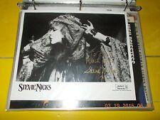 STEVIE NICKS SIGNED ORIGINAL PUBLICITY PHOTOGRAPH WITH ENVELOPE