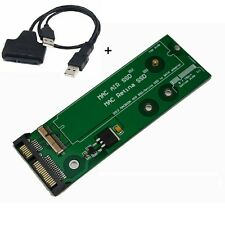 SSD to SATA adapter for 7+17 / 8+18 Pin 2012 MacBook Pro Retina , Air & USB CABL