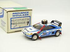 Provence Moulage Kit Monté 1/43 - Peugeot 405 T16 Paris Dakar 1989 Vatanen