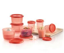 New Tupperware Cooking Set - Midgets (4) 60ml Snack Cups (4) 110ml