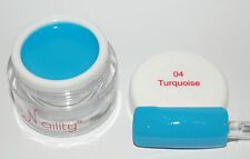 Color Gel UV/CCFL/LED  7ml turquoise n°04 Naility  USA gel de couleurs