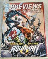 PREVIEWS THE COMIC SHOP'S CATALOG SEPT 2011 Aquaman  Guns and Dino's e69