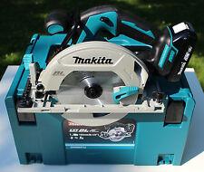 Makita DHS680Y1J Akku-Handkreissäge DHS680 18V-Solo + Führungsschinenadapter