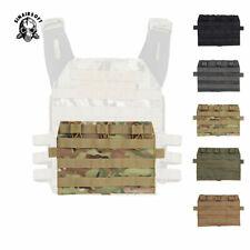 Tactical MOLLE Detachable Mag Pouch Panel For AVS JPC2.0 Front Nylon Triple Bag