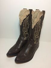 COCONUTS CIMMARON Brown Western Boots Women's Size 6 M