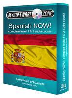 LISTEN & LEARN TO SPEAK SPANISH AUDIO LANGUAGE TRAINING COURSE MP3 CD NEW