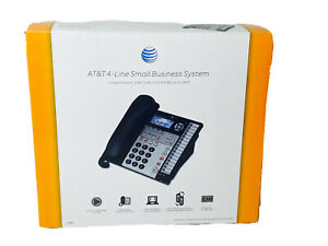 AT&T 1080 Caller ID 4-Line Speakerphone Corded Business Office Telephone NIB