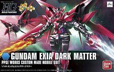 Gundam HG Build Fighters 013 Gundam Exia Dark Matter Custom Made 1/144 Model Kit