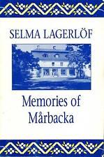 ANTIQUARIAN SELMA LAGERLOF MEMORIES OF MARBACKA