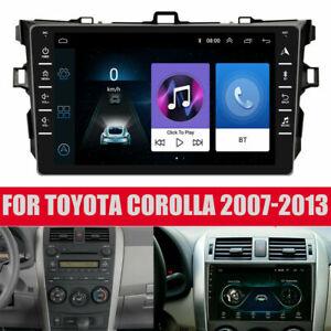"For Toyota Corolla 2007-2013 GPS Navigation 8"" Android 9.1 Car Stereo Radio WIFI"