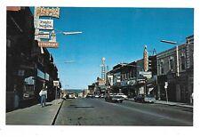 Simcoe County ORILLIA ONTARIO Mississuaga Street - Autos, Store Signs