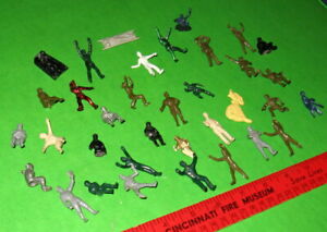 NICE LOT OF VINTAGE HP MIXED 1/35 MILITARY FIGURES........