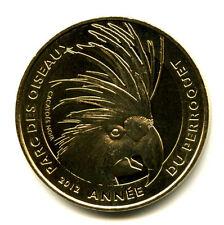 01 VILLARS-LES-DOMBES Parc des Oiseaux 4, Cacatoes noir, 2012, Monnaie de Paris