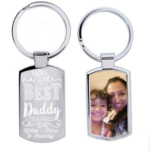 Personalised  Fathers Day Engraved and Printed  Keepsakes Gift for Birth Day etc