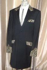 WE CUSTOMISE Your Jacket (Drape etc) with TEDDY BOY Velvet Collar & Pocket flaps