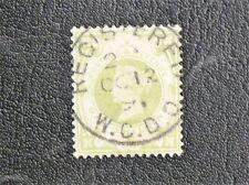 TIMBRES  D'ANGLETERRE ( UK ) 1887/1900 N° 103 YVERT - 1 SHILLING VERT - TBE