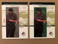 RAYMOND FLOYD 2001 UPPER DECK CARD #56 AMBASSADORS OF GOLF 43/50 SP AUTHENTIC