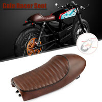 Hump Universal Seat Vintage Saddle for Honda CB GB XL Yamaha SR XJ GS Cafe Racer