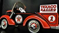 """Mini Pedal Car Ford Race Truck """"Too Small To Ride On"""" Rare Collector Metal Model"""